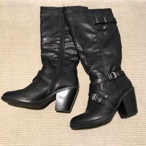 """Rialto """"Madyson"""" wide calf black boots"""